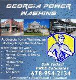 Georgia Power Washing